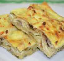 Запеканка из лаваша с сыром в духовке