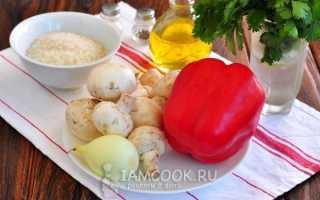 Как приготовить перец фаршированный постный