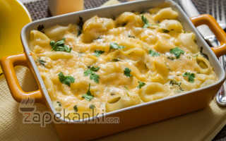 Запеканка из яиц и макарон в духовке