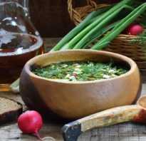 Рецепт постной окрошки с грибами и капустой