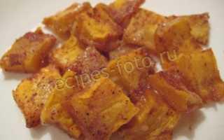 Как запечь тыкву с медом и корицей
