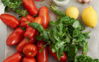Итальянские помидоры в собственном соку