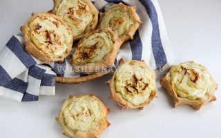 Постные шаньги с картошкой рецепт