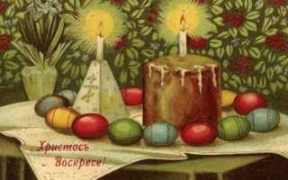Кулич пасхальный по старинному рецепту