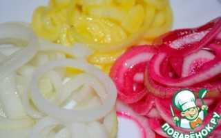 Замариновать лук репчатый рецепт