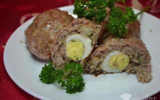 Зразы с перепелиным яйцом рецепт в духовке