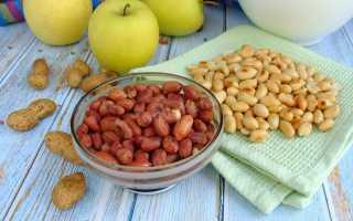 Как жарить арахис на сковороде в шелухе