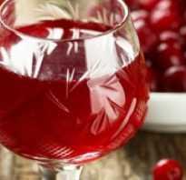 Как настоять водку на клюкве рецепт