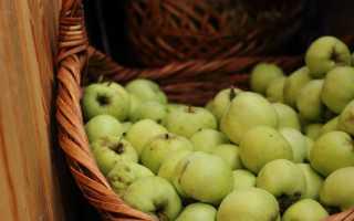 Яблочная гранола с арахисом