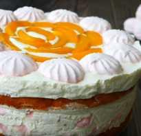 Зефирный торт рецепт с фото пошагово