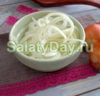 Как мариновать лук для шашлыка с уксусом