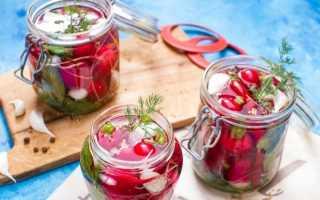 Редис на зиму – простые и вкусные рецепты. Редис консервированный (8 рецептов) Как делать солить редис зимой