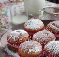 Йогуртовые кексы рецепт с фото