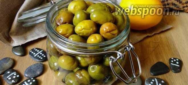 Как готовят сырые оливки