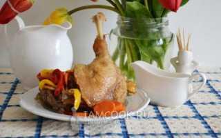 Как готовить гуся в мультиварке