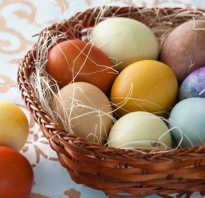 Как покрасить куриные яйца к Пасхе природными красителями