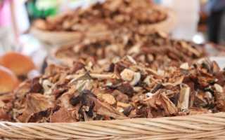 Как хранить сушёные грибы