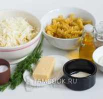 Запеканка с капустой и макаронами в духовке
