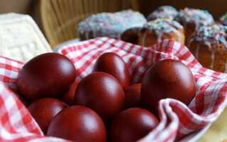 Как красить яйца на Пасху Фото крашенных яиц