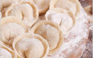 Как завести пельменное тесто рецепт