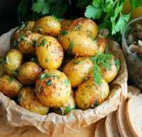 Как запечь мелкую картошку в духовке целиком
