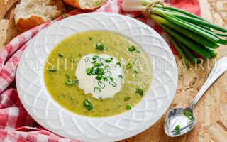 Кабачковый суп пюре в мультиварке