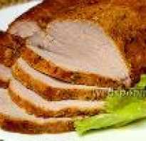 Как запечь кусок свинины целиком
