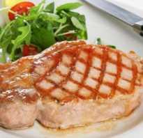 Как приготовить бифштекс из свинины на сковороде