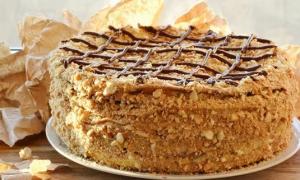 Как испечь торт «наполеон»