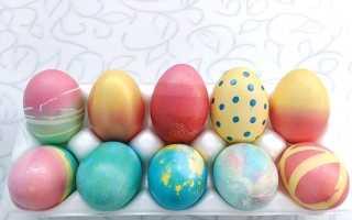 Можно ли пищевыми красителями для крема покрасить яйца