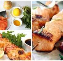 Как замариновать лосось для шашлыка