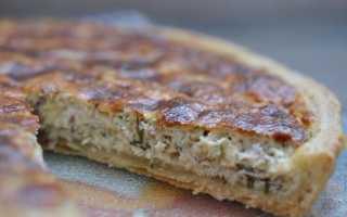 Заливной пирог с курицей и сыром рецепт