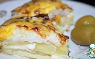 Запеканка рыба с картошкой в духовке рецепт