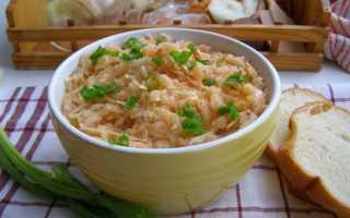 Как потушить капусту с рисом в мультиварке