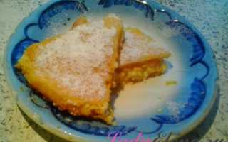 Запеканка из тыквы с сыром в духовке