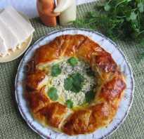 Как называется слоеный пирог с сыром