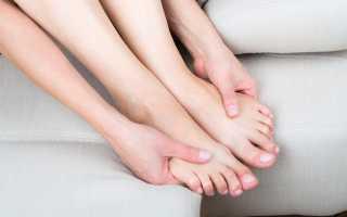 Почему немеют пальцы на ногах