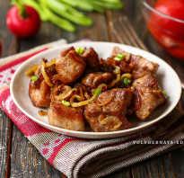 Как пожарить вареное мясо на сковороде