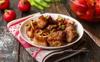 Как лучше пожарить мясо на сковороде