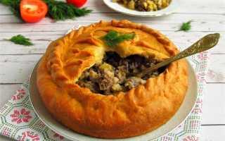 Зур беляш рецепт по татарски в духовке