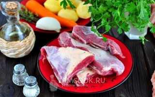 Как потушить говяжьи ребрышки с картошкой