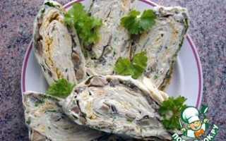 Закуски из лаваша с начинкой рецепты простые