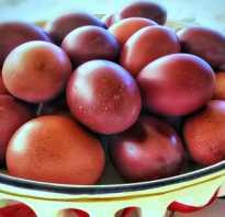 Чем красить яйца на пасху