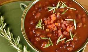 Секреты и способы приготовления постного фасолевого супа
