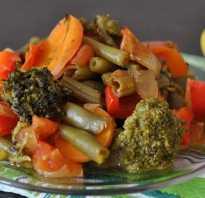 Как потушить замороженные овощи в мультиварке