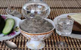 Как засолить икру сазана