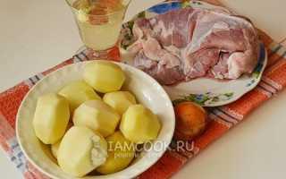 Как пожарить свинину на сковороде с картошкой