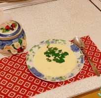 Как готовить крем суп сырный