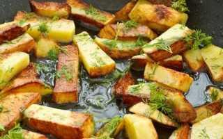Как пожарить картошку чтобы она была хрустящей