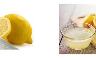 Как заменить лимонный сок лимонной кислотой пропорции
